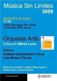 Próximo concierto - Música sin Límites